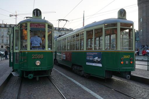 """""""Riflessioni per non dimenticare"""" a Torino il Giorno della Memoria sul tram storico"""