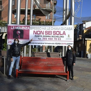 Anche Nichelino dice no alla violenza sulle donne (VIDEO)