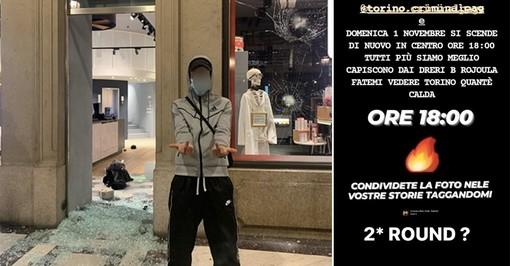 """I giovani che hanno distrutto il centro minacciano sui social: """"Domenica secondo round?"""""""