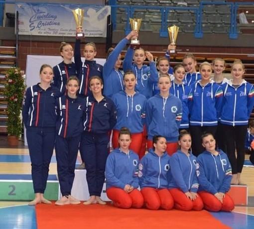 Twirling Collegno, Team Junior da medaglia d'oro