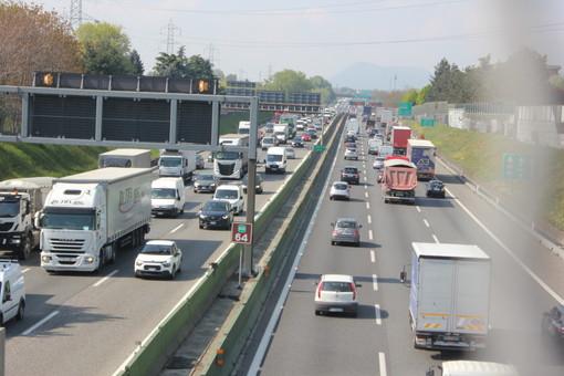 Traffico in tilt in tangenziale