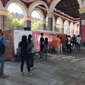 Fine vacanze? Corsa al tampone gratuito: a Torino tutti in fila allo hotspot della Croce Rossa [FOTO e VIDEO]