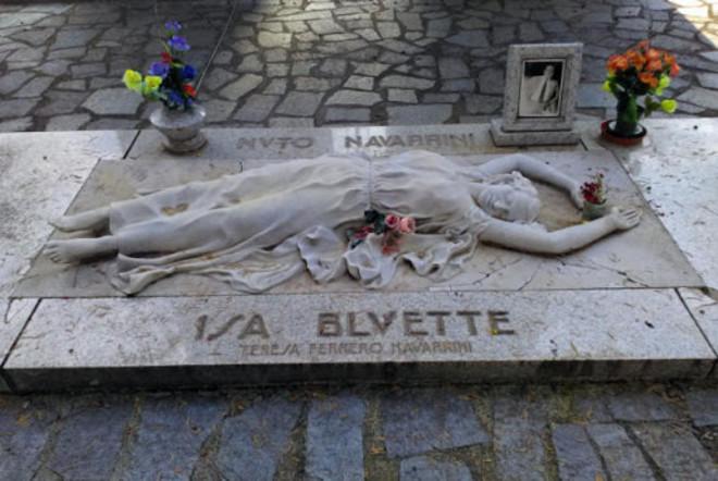 Isa Bluette, la prima soubrette torinese che fu regina del cafè chantant