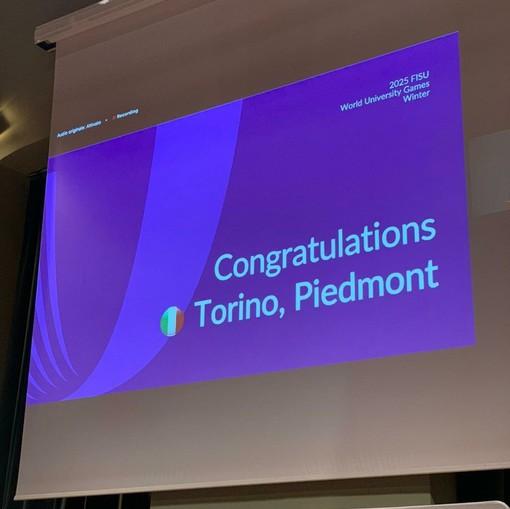 """Torino si aggiudica le Universiadi invernali 2025. Appendino e Cirio: """"Non vediamo l'ora"""""""