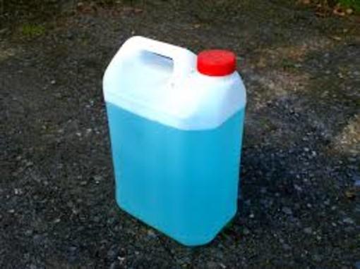 tanica di benzina - foto d'archivio