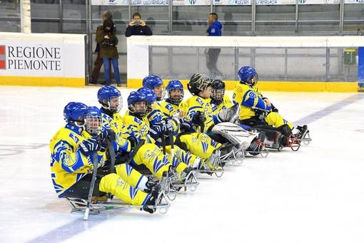 Torna il campionato italiano di para-ice hockey, i Tori Seduti impegnati al PalaTazzoli