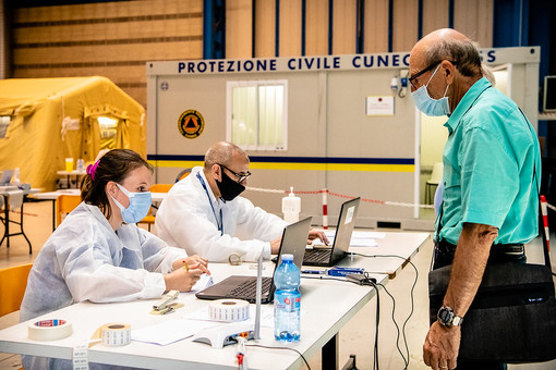 Al Campo Marte di Altec partono i test sierologici ai volontari e ai dipendenti di Anpas