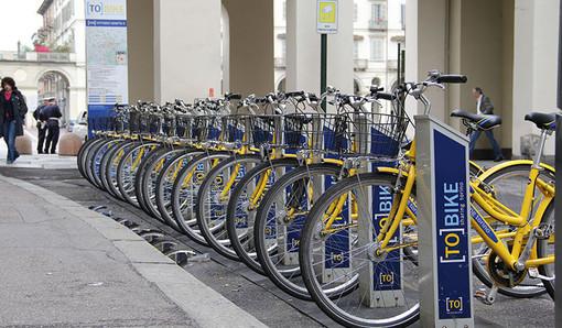 Per l'estate nuove stazioni di TO[BIKE], aumentano anche le bici gialle per le strade di Torino