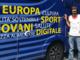 """Giro d'Italia, il camper dell'UE fa tappa in Piemonte: """"Siamo vicini a corridori e cittadini"""""""