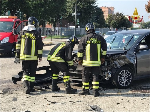 Incidente in corso Ferrara, Vigili del Fuoco e ambulanze in azione