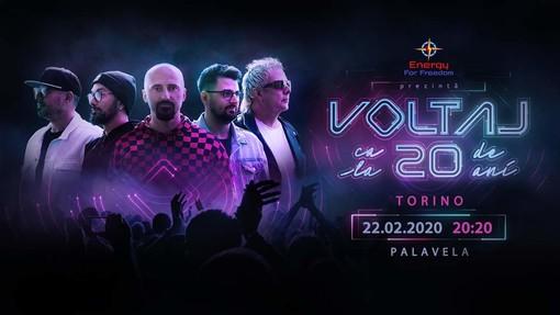 La band romena Voltaj il 22 Febbraio 2020  a Torino