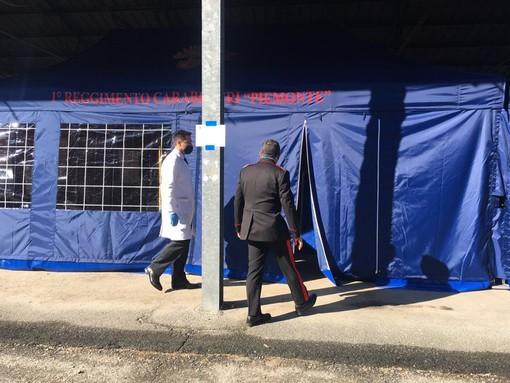 Covid: al via a Moncalieri i vaccini per i carabinieri del Torinese
