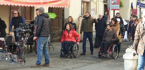 """Miracoli a Venaria Reale? Lourdes è la città ricostruita nel centro storico, per il film """"Corro da te"""""""