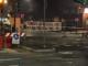 """Nuovo striscione sulla ciclabile di via Nizza: """"Sganga e Lo Russo non litigate, per una poltrona farete pace"""""""