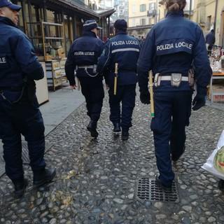 Rissa sedata dai vigili urbani a Porta Palzzo