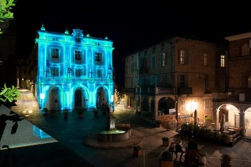 videomapping palazzo comunale di moncalieri