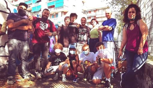 Fiodor Verzola e i giovani di Nichelino Urban Lab