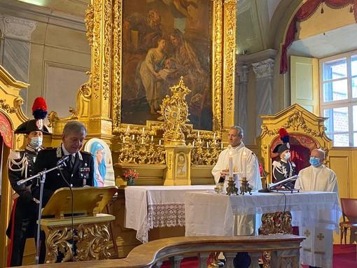 """Torino, i carabinieri celebrano la """"Virgo Fidelis"""""""