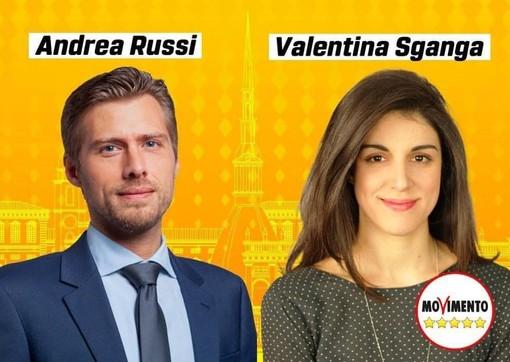 Andrea Russi e Valentina Sganga
