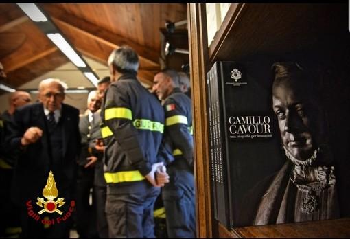 Santena, il premio Camillo Cavour 2019 per i Vigili del Fuoco [FOTO]