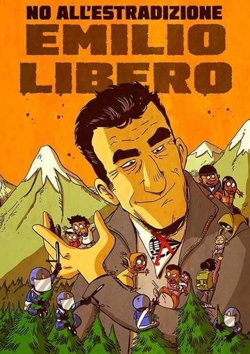 Zerocalcare, solidarietà all'attivista No Tav Emilio Scalzo
