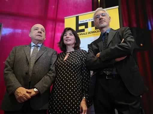 Una delle passate edizioni di Biennale Democrazia