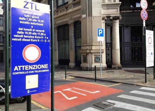 """L'appello degli ambientalisti: """"A Torino riattivare la Ztl per la salute dei cittadini"""""""