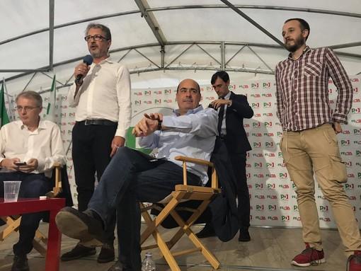 """Zingaretti alla Festa dell'Unità di Torino: """"Senza il Pd Salvini sarebbe premier, l'odio andava fermato"""""""